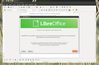 Instale a versão 3.6 do Libre Office no Ubuntu