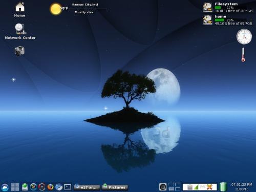 Instale a última versão do Enlightenment Desktop no Ubuntu ou Mint