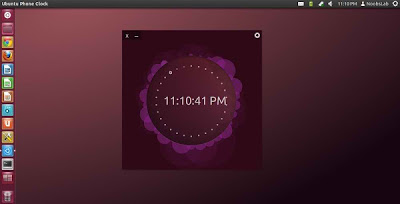 Instale o relógio do Ubuntu Phone no seu Desktop