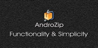 Androidzip: Compacte/Descompacte os mais diferentes arquivos no Android
