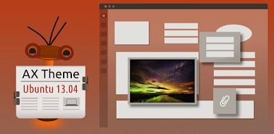 Novo tema AmbianceX do Ubuntu 13.10 Sancy Salamander no Ubuntu 13.04 Raring Ringtail