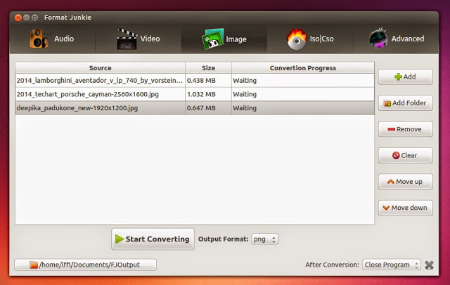 Format Junkie: Um conversor de midias poderoso para Ubuntu