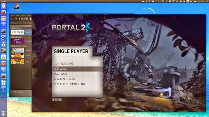 Portal 2 é liberado para Linux como Beta