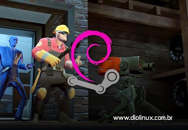 Valve presenteia desenvolvedores do Debian com todos os jogos da Steam!