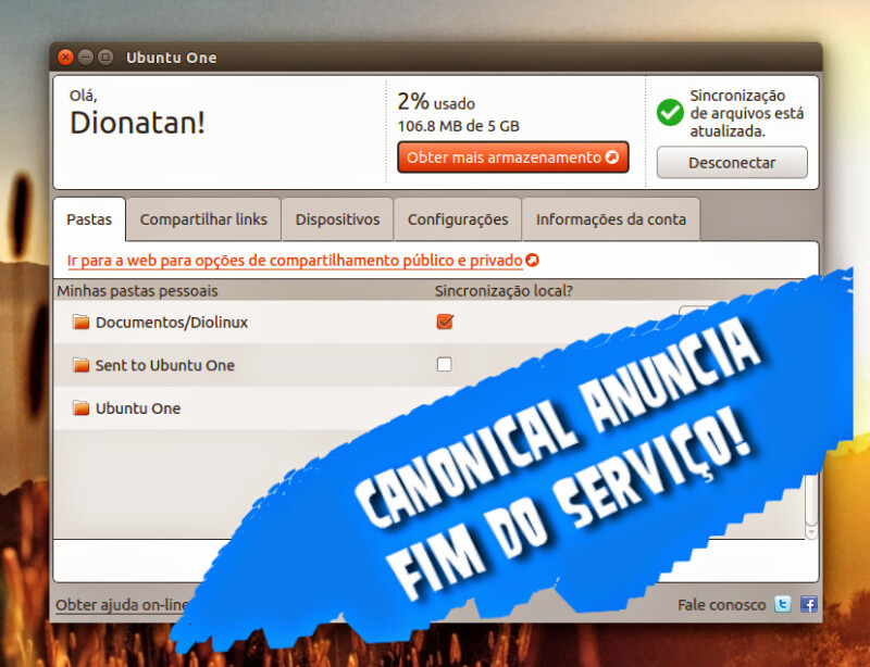 Canonical vai aposentar o Ubuntu One