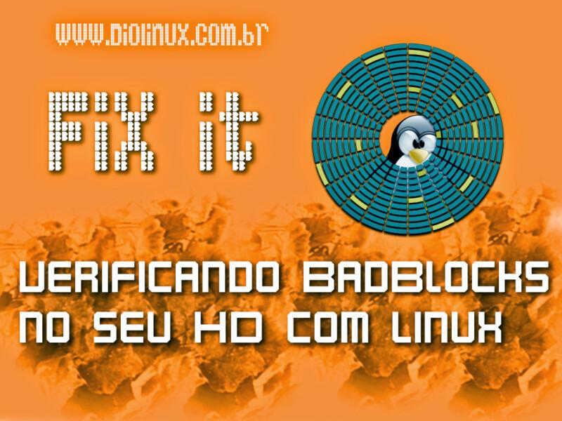 Verificando BadBlocks no Ubuntu