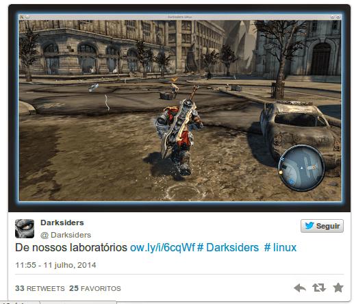 Nordic Games anuncia porte de Darksiders para Linux