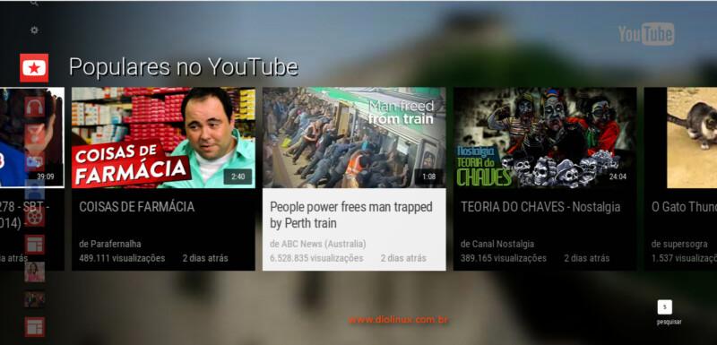 Como acessar o YouTube para SmartTVs no seu navegador