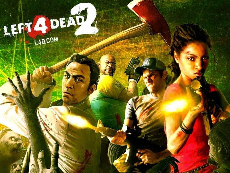 Uma montagem engraçada envolvendo Linux e Left 4 Dead 2