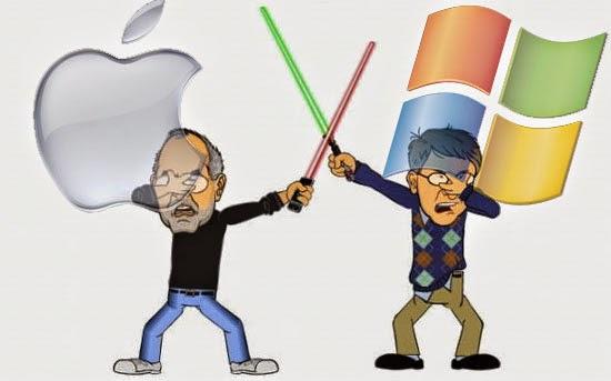 Mac versus PC - As zoeiras da Apple com a Microsoft