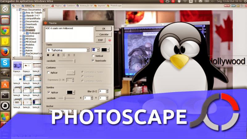 Como instalar o editor de imagens PhotoScape no Ubuntu