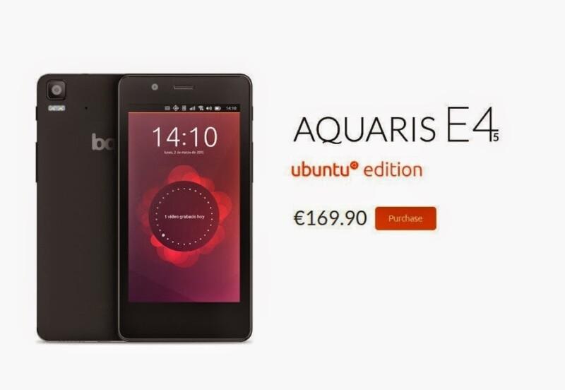 BQ Vende todas as unidades fabricadas do Ubuntu Phone em pouca horas