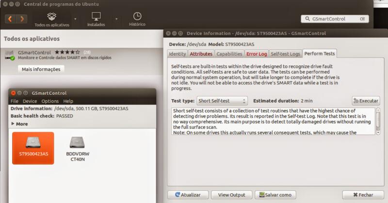 """Como testar a """"saúde"""" do seu HD no Linux com o GSmartControl"""