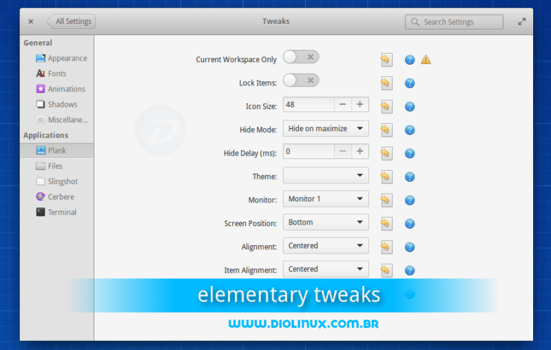 Como instalar o elementary Tweak no elementary OS 0.3 Freya