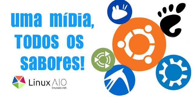 Todas as versões de Ubuntu, Mint, Debian e Fedora em uma ISO só! - Linux All in One