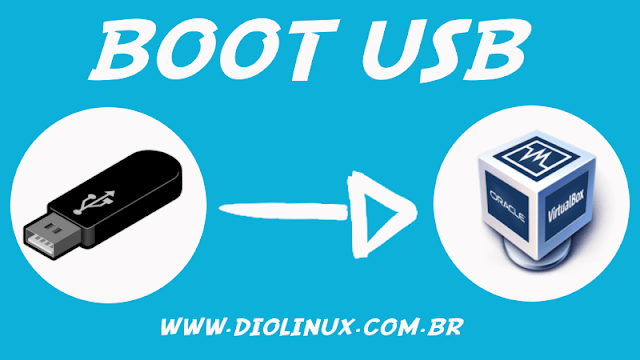 Testando pen drives bootáveis no VirtualBox