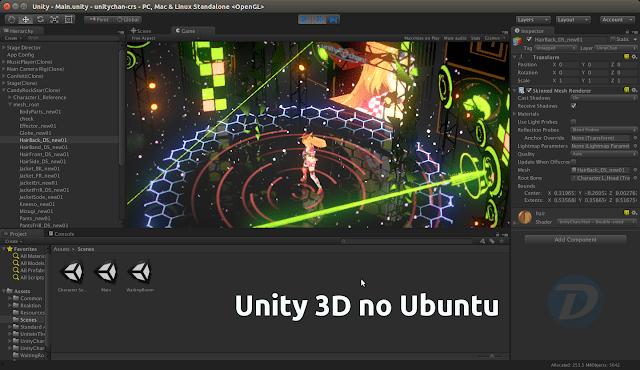 Ela chegou! Unity 3D ganha versão nativa para Linux
