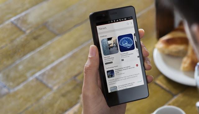 """Ubuntu Phone que """"se transforma"""" em computador chegará em 2016"""