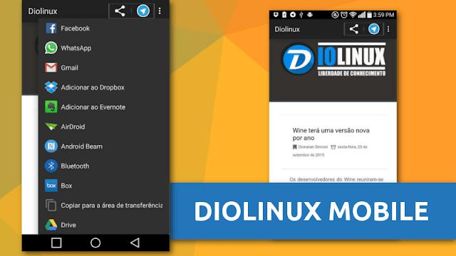 Nova versão do App do Diolinux para Android, baixe agora!