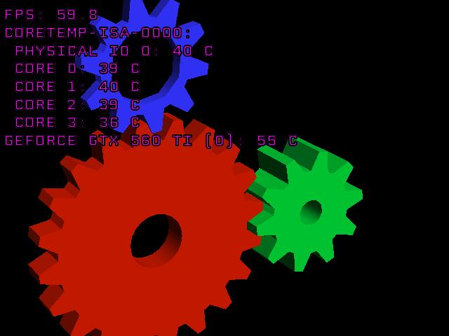 GLXOSD - Um programa semelhante ao FRAPS para o Ubuntu
