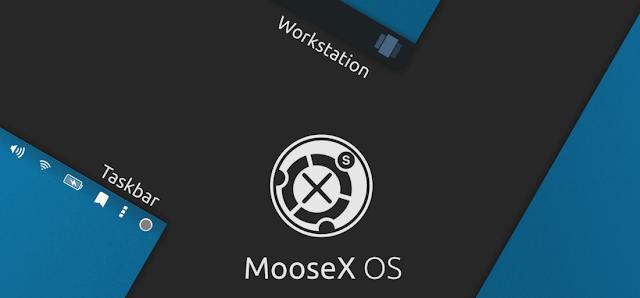 MooseX: Um mockup sensacional de uma nova interface gráfica para o Linux