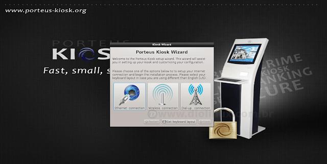 Porteus Kiosk: Uma distribuição para ser usada em modo Quiosque de 40 MB