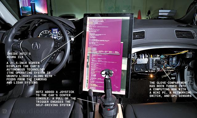 Hacker tenta criar seu próprio carro inteligente usando o Ubuntu