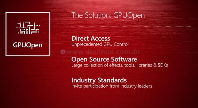 AMD da mais um passo para tornar os drivers de vídeo do Linux melhores