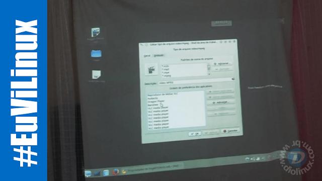 Linux Mint é utilizado em festas de debutantes