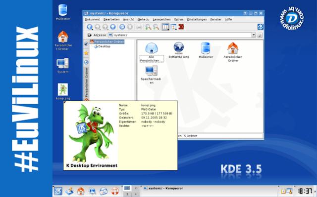 KDE 3.5 é utilizado em Mercado em Natal RN