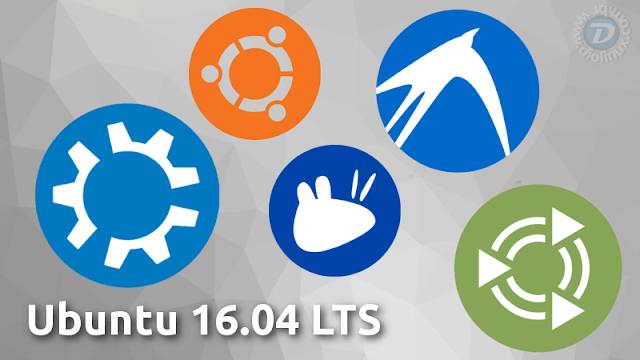 Ubuntu 16.04 LTS Beta 1 e seus sabores estão disponíveis para download