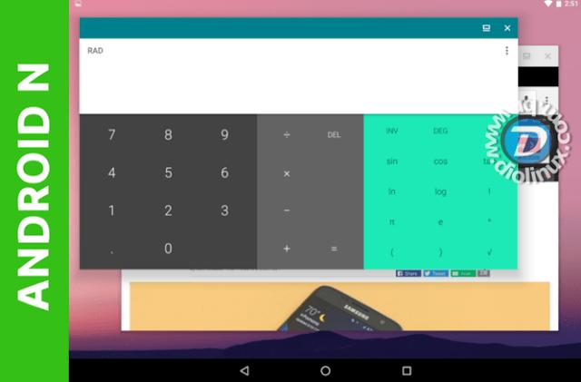 Android N terá modo Desktop nativamente