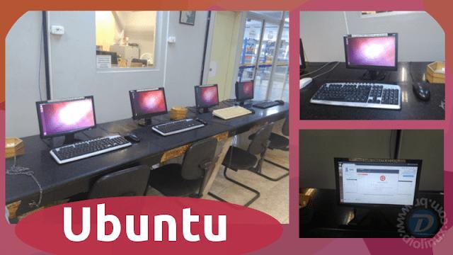 Ubuntu é utilizado na Biblioteca Central da UFS