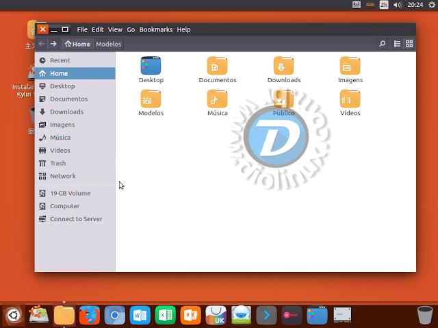 Ubuntu Kylin Beta é lançado com barra do Unity