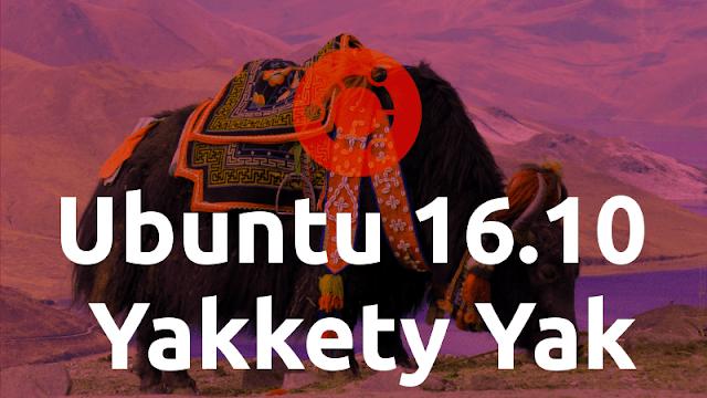 Definida data de lançamento do Ubuntu 16.10 Yakkety Yak