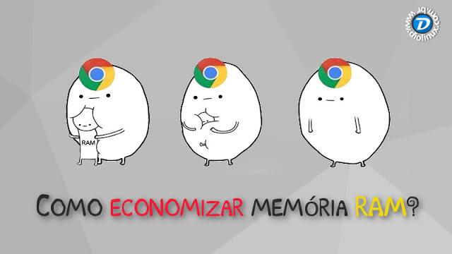Como economizar memória RAM no Google Chrome com uma extensão