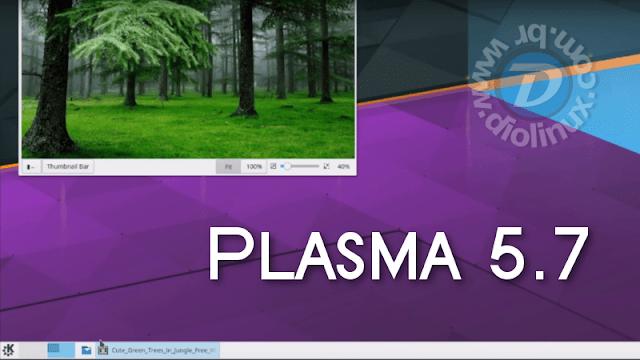 Veja o que há de novo o KDE Plasma 5.7