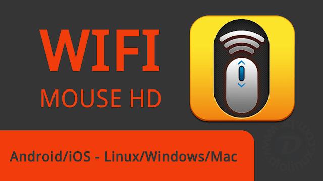 Como usar o Android para controlar o seu computador com o Wifi Mouse HD