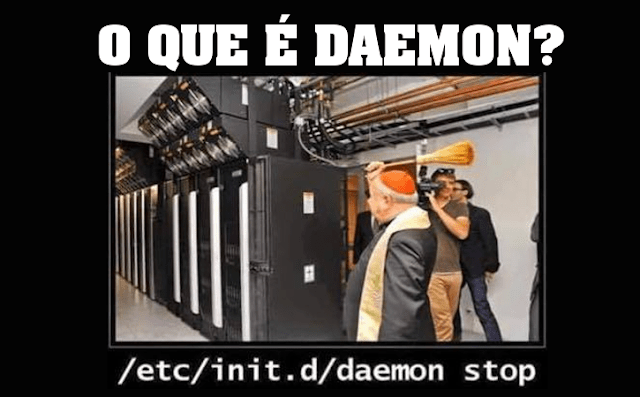 "Entenda o que é e como funciona o ""Daemon Init"" no Linux"