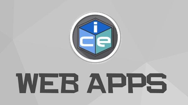Crie Web Apps facilmente com o ICE