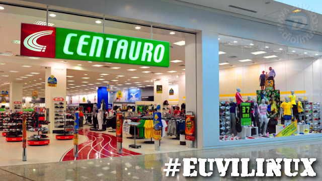 Lojas Centauro usam Linux nos caixas #EuViLinux