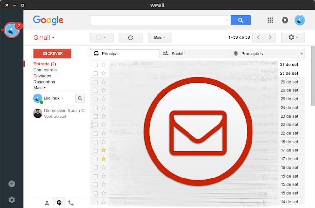 WMail - Um gerenciador de e-mails para Gmail e Inbox para Linux