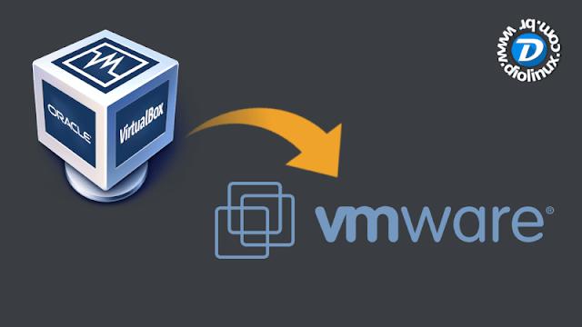 Como exportar uma máquina virtual do VirtualBox para o VMWare