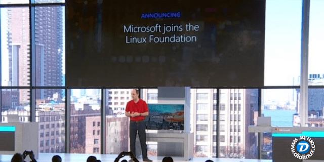 Microsoft torna-se membro Platinum da Linux Foundation