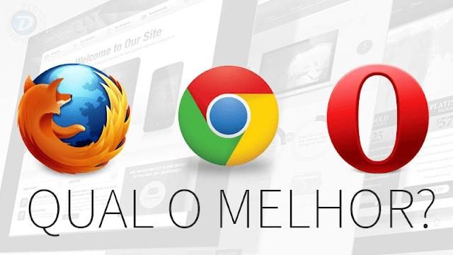 Teste comparativo entre navegadores no Linux