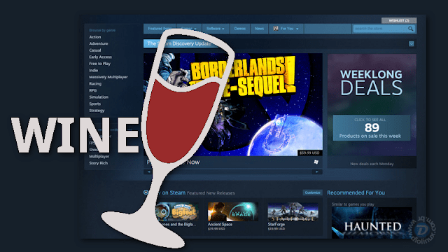 Loja Steam não abre no Wine, veja como corrigir o problema
