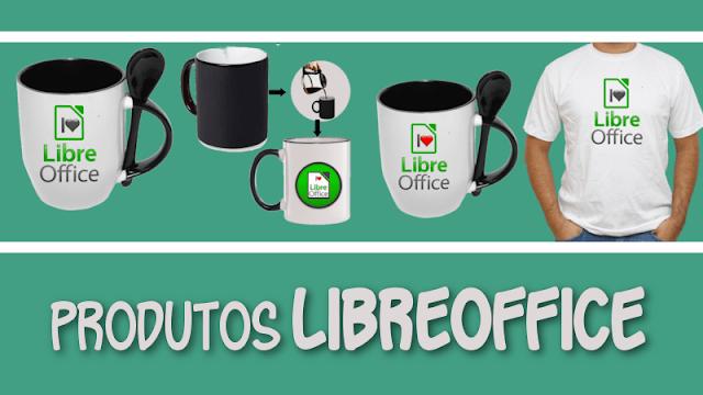 Compre produtos LibreOffice e ajude o projeto a continuar