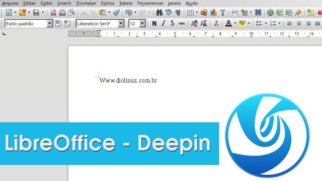 Corrigindo a aparência do LibreOffice no Deepin
