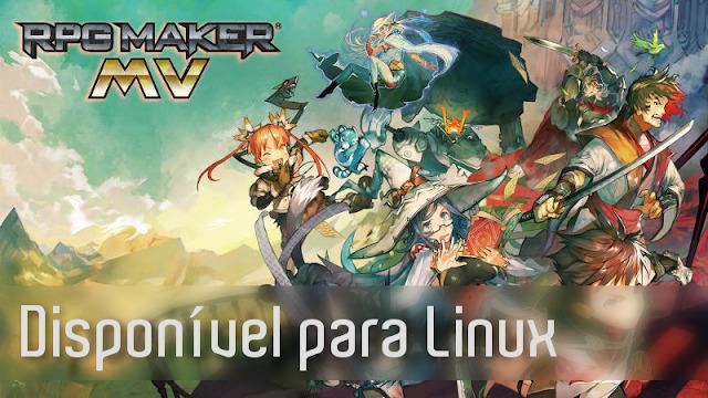 Lançado RPG Maker MV para Linux na Steam