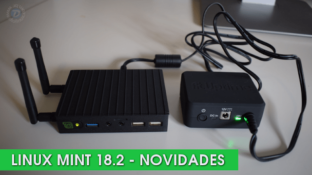 Confira as novidades quentes no Linux Mint 18.2